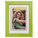 Hama rámeček dřevěný JESOLO, zelená, 10x15cm