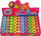 Razítka ovoce dětská veselá 10 druhů kulatá jednotlivá tiskátka