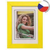 Hama rámeček dřevěný JESOLO, žlutá, 21x29,7cm