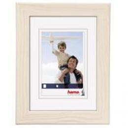 Hama rámeček dřevěný RIGA, bílý, 18x24cm - zvětšit obrázek