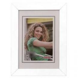 Hama rámeček dřevěný JESOLO, bílá, 15x20cm - zvětšit obrázek