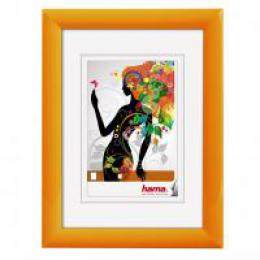 Hama rámeček plastový MALAGA, oranžová, 20x30 cm - zvětšit obrázek