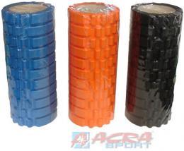 ACRA Válec masážní 33x14cm fitness roller na cvičení na rehabilitaci 3 barvy - zvětšit obrázek