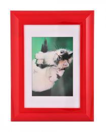 Hama rámeček plastový PALMA, červený, 10x15cm - zvětšit obrázek