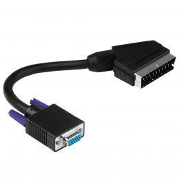 Hama adaptér SCART - D-Sub (VGA) - zvětšit obrázek