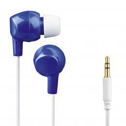 Thomson dětská sluchátka EAR3106, silikonové špunty, modrá/bílá - zvětšit obrázek