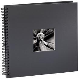 Hama album klasické spirálové FINE ART 36x32 cm, 50 stran, šedé - zvětšit obrázek