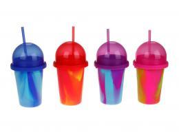 Slushy Maker výroba ledové tříště dětský shaker 4 barvy plast v krabici - zvětšit obrázek