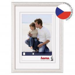 Hama rámeček dřevěný OREGON, bílý, 30x45cm - zvětšit obrázek