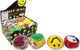 H-KISS Míček Hacky Sack barevný hakisák 6cm pletený balonek - zvětšit obrázek