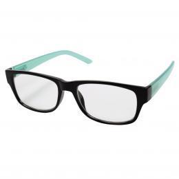 Filtral čtecí brýle, plastové, černé/tyrkysové, 1.5 dpt - zvětšit obrázek
