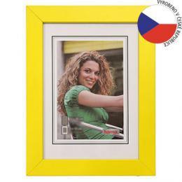 Hama rámeček dřevěný JESOLO, žlutá, 15x21cm - zvětšit obrázek