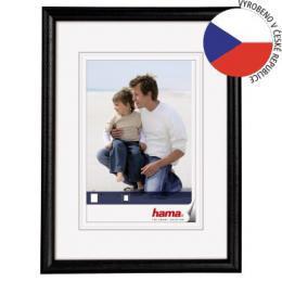 Hama 1152 rámeček dřevěný OREGON, černá, 15x21cm - zvětšit obrázek
