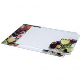 Xavax skleněná deska na krájení Wine, 20x30 cm, 25x35 cm, set 2 ks - zvětšit obrázek