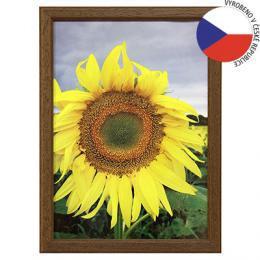 Hama 1033 rámeček dřevěný TRAVELLER II, hnědý, 21x29,7 cm - zvětšit obrázek