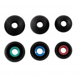 Hama náhradní silikonové špunty, 3 páry, černá - zvětšit obrázek