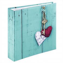 Hama album memo RUSTICO LOVE KEY 10x15/200, popisové pole - zvětšit obrázek