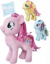 HASBRO MLP PLYŠ Poník My Little Pony s potiskem hřívy 12cm 6 druhů - zvětšit obrázek